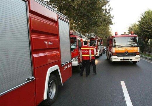 استقرار ۱۵۴ آتشنشان در مسیرهای راهپیمایی «جاماندگان اربعین»