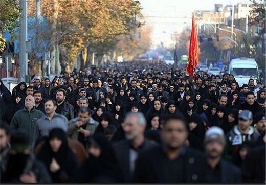 """مسیرهای سهگانه """"پیادهروی جاماندگان اربعین"""" در تهران اعلام شد"""