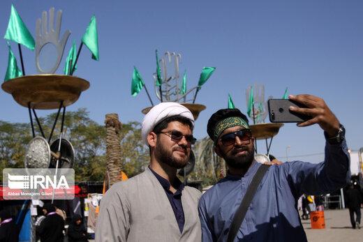 واکنش جالب زائران ایرانی اربعین به تهدید تکفیریها