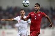 جشن پیروزی بحرینیها مقابل ایران با حضور رئیس AFC/عکس
