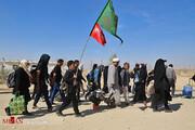 تصاویر | بازگشت زائران اربعین حسینی از مرز مهران با پای پیاده