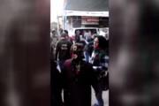 فیلم | لحظه هولناک اصابت موشک اف16 ترکیه به مردم راس العین