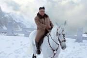 فیلم | کیمجونگاون با اسب به کوه مقدس رفت