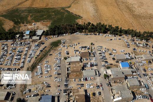 شهر مرزی مهران در ایام اربعین حسینی