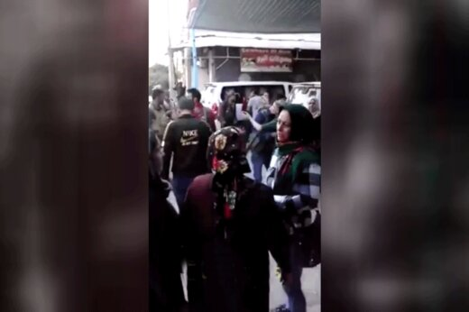 فیلم   لحظه هولناک اصابت موشک اف16 ترکیه به مردم راس العین