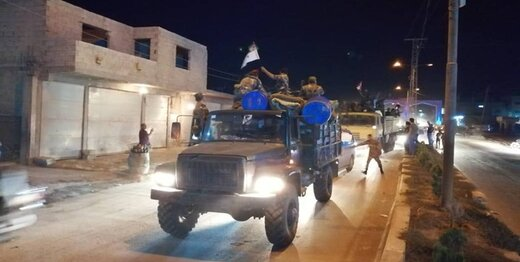 ارتش سوریه وارد عینالعرب شد