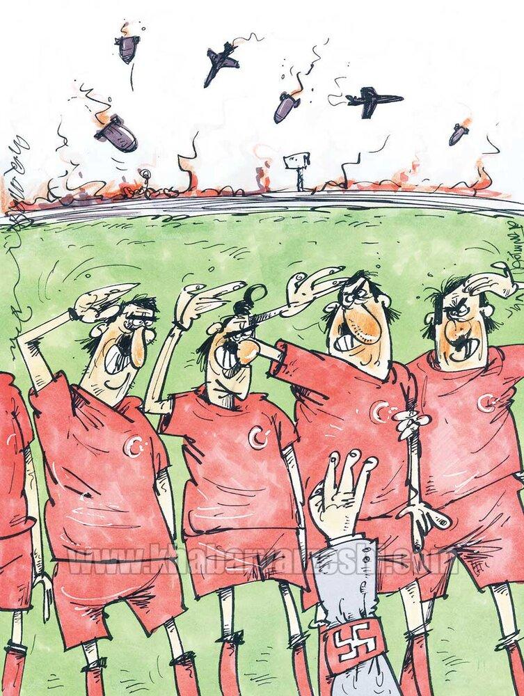دامنه این جنگ خونین به فوتبال هم کشیده شد!