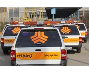 ۱۲ دستگاه خودروی امدادی سایپا در مرز شلمچه مستقر شدند
