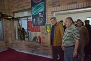 حناچی از خدمترسانی کارکنان شهرداری تهران در نجف بازدید کرد