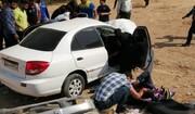 جزئیات تصادف نماینده اهواز در چذابه/ یک نفر کشته شد +عکس