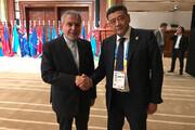 صالحی امیری با رئیس و دبیرکل کمیته ملی المپیک ازبکستان دیدار کرد