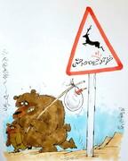 هشدار: خطر حمله به حیوانات وحشی!