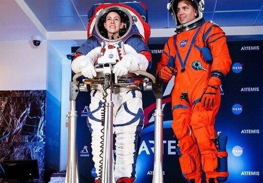لباسهای جدید ناسا برای سفر به ماه رونمایی شد / عکس