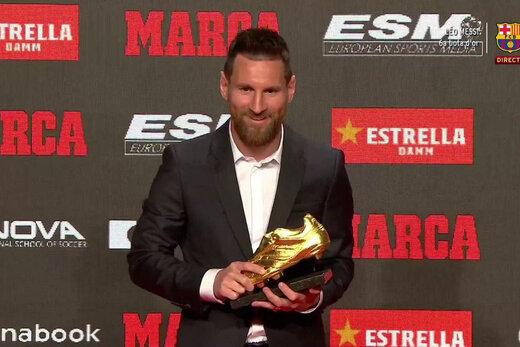ادعای یک رسانه اسپانیایی؛مسی امشب برنده توپ طلا میشود