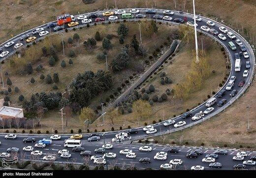 ترافیک سنگین در جادههای شمال