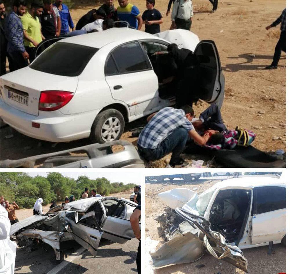 عکس از حوادث امروز اهواز
