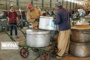 تصاویر | آشپزخانه آستان قدس در مرز مهران