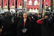 فیلم | حرفهای شنیدنی فریبا نادری درباره سفر اربعین