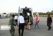 انتقال ۱۵ مصدوم ون واژگون شده در خانقین عراق/ اسامی مصدومان