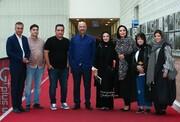 تشکر ویژه گلاره عباسی از بازیگران «هیولا»/ عکس