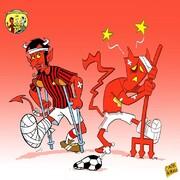 اوضاع نافرم این دو تیم فوتبال را ببینید!