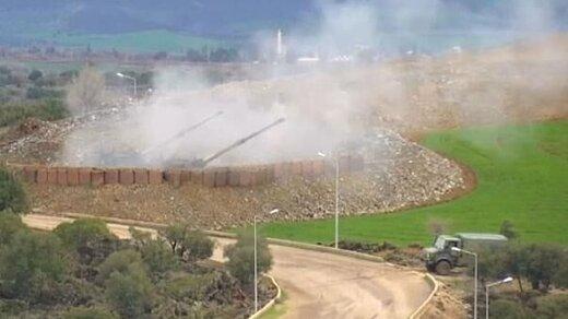 حمله توپخانهای ترکیه به روستاهای اطراف راسالعین