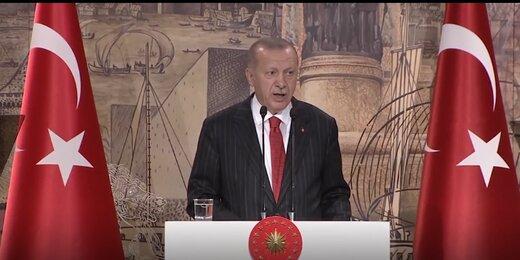 اردوغان: به دنبال تأمین امنیت مرزهایمان و تضمین بازگشت آوارگان هستیم