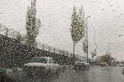 جادههای این ۸ استان بارانی است