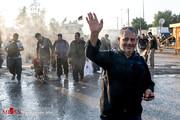 تصاویر | زائران اربعین در حال بازگشت از مرز مهران