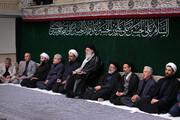 تصاویر | عزاداری اربعین حسینی با حضور هیئتهای دانشجویی در حسینیه امام خمینی(ره)