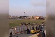 فیلم | ضرب و شتم شدید تیم داوری در فوتبال اندیمشک
