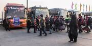 تخلفات شرکتهای اتوبوسرانی در اربعین