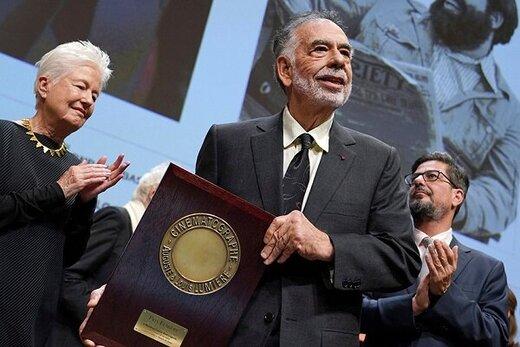 فرانسیس فورد کاپولا در جشنواره لومیر تجلیل شد