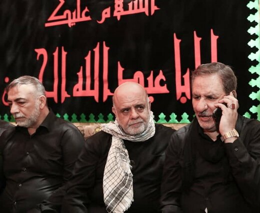 Iran 1st VP, Iraqi PM discuss Arbaeen over phone