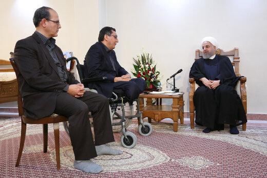روحانی: همه کسانی که کینه از ایران داشتند، حکومت آمریکا را به دست گرفتهاند