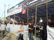 خدمت رسانی به بیش از 100 هزار زائر توسط موکب الحسین اوقاف لرستان
