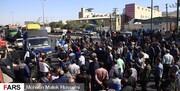 تجمع کارگران آذرآب اراک در اعتراض به پرداخت نشدن حقوق