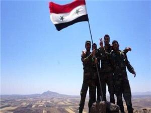 برافراشته شدن پرچم سوریه در شمال شرق این کشور
