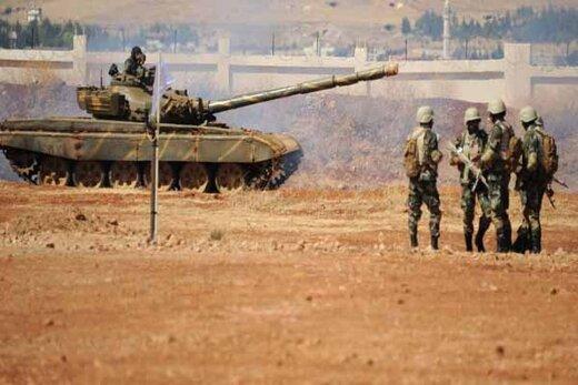 نیروهای زرهی ارتش سوریه عازم شرق فرات شدند