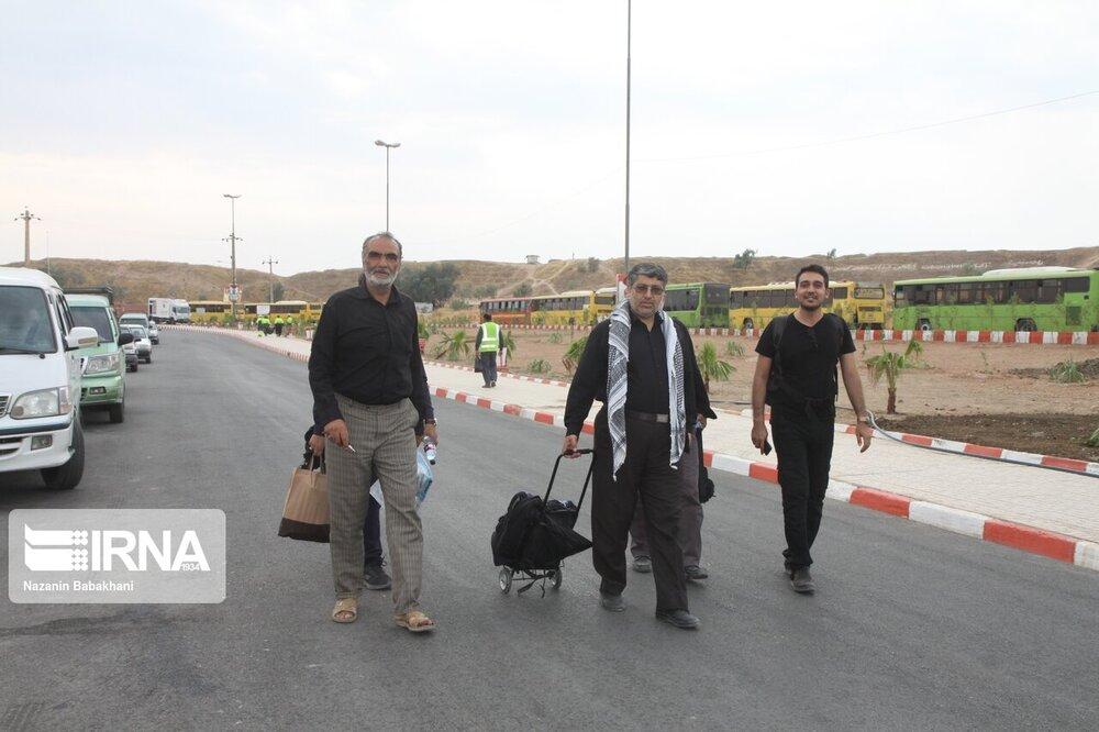 مرز مهران برای تردد زائران باز شد؟