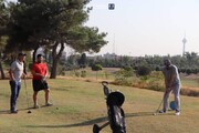 تصاویر   گلف بازی کردن کالدرون در باشگاه انقلاب