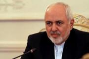 واکنش ظریف به اعلام حمایت آمریکا از مردم ایران