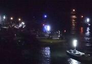 تکاوران نیروی دریایی سپاه ۳۵۰ صیاد طوفانزده را نجات دادند