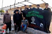 تصاویر   برپایی موکبها در آستانه شهادت امام رضا علیهالسلام