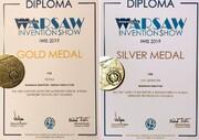 مخترع ارومیهای، ۲ مدال مسابقات بین المللی اختراعات لهستان را کسب کرد