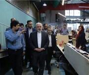 توئیت ظریف پس از بازدید از دستاوردهای کارآفرینان جوان