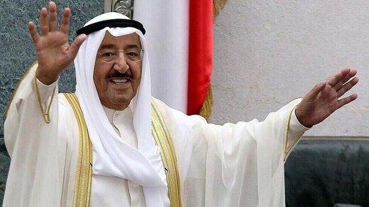 نخستین حضور رسانهای امیر کویت پس از بازگشت از سفر درمانی به آمریکا