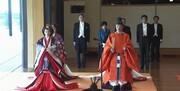 امپراتور جدید ژاپن رسماً تاجگذاری کرد/عکس