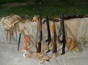 دستگیری شکارچیان غیر مجاز در عملیات ویژه یگان حفاظت محیط زیست لرستان