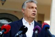 فیلم | مخالفت جالب نماینده پارلمان مجارستان هنگام سخنرانی نخست وزیر